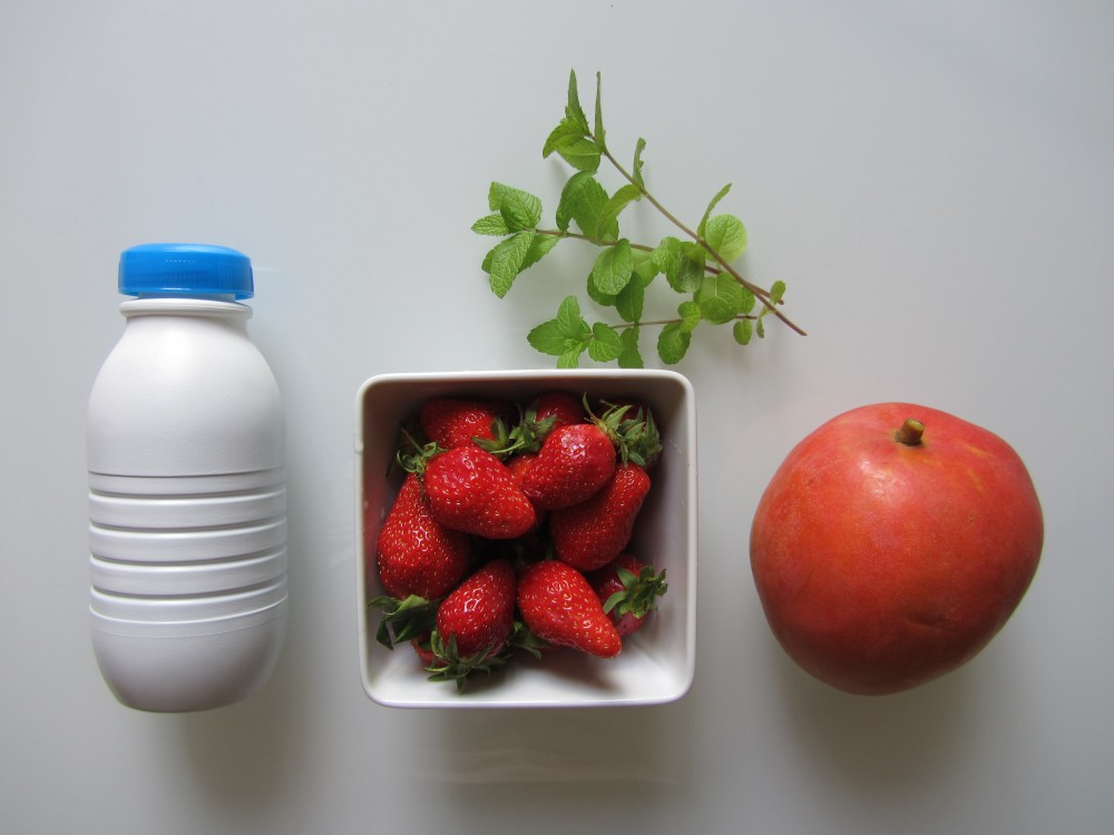 Smoothie fraise mangue (1/6)