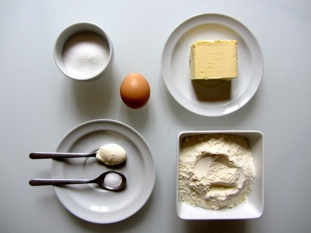 Tarte aux marrons, ingrédietnts 1