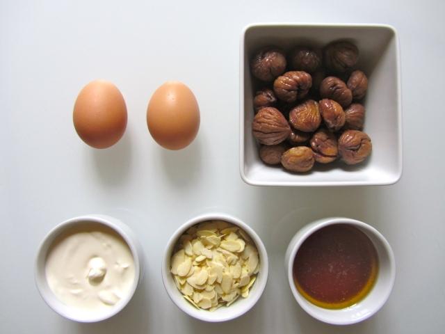 Tarte aux marrons, ingrédietnts 2