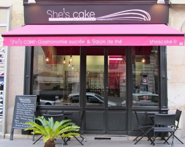 She's cake, extérieur boutique