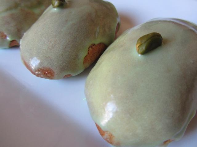 Salambos à la pistache 2