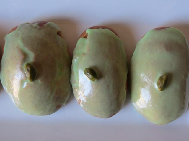 Salambos à la pistache, ingrédients 3