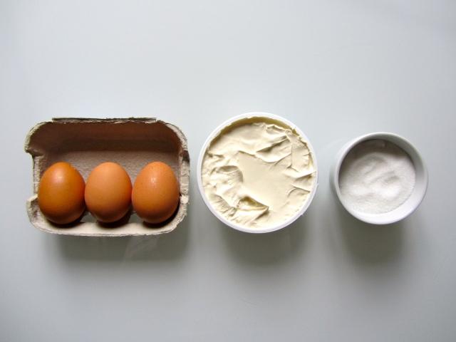 Tiramisu aux framboises et aux pistaches, ingrédients 1