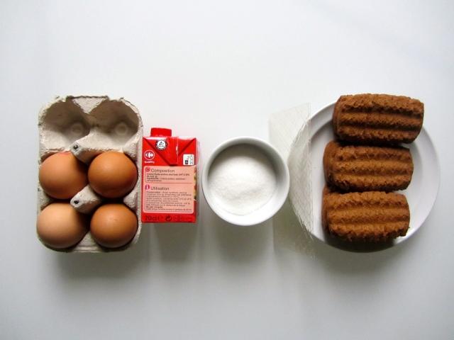 Verrines crème citron, spéculos et myrtilles, ingrédients 1
