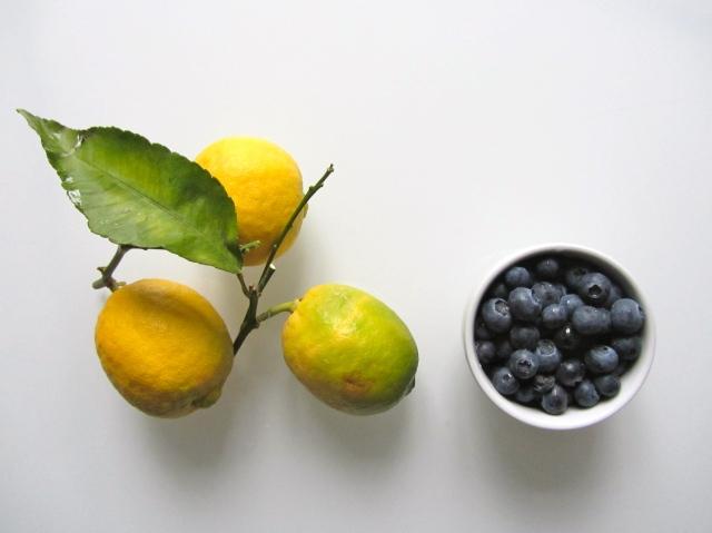 Verrines crème citron, spéculos et myrtilles, ingrédients 2