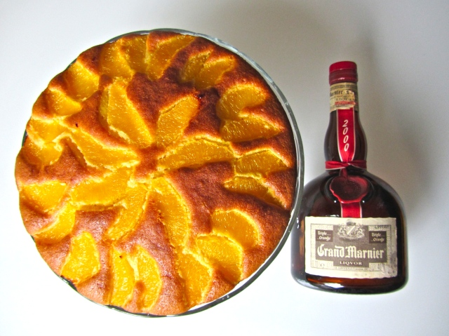 Gâteau à l'orange, Grand Marnier