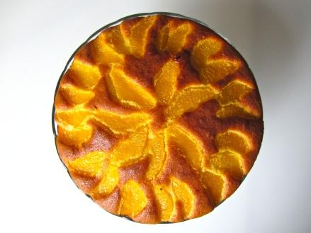 Gâteau à l'orange, présentation